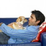 Men bond quickly with their pets but it may not last